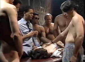 Facial,Gangbang,Jizz,Sperm,Triple Penetration,white girl Tina Tyler...