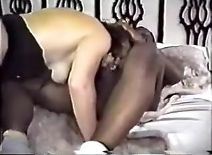 Black,Couple,MILF MILF takes on two...