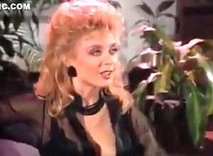 Lesbian,Blonde,Vintage Nina Hartley Gets...
