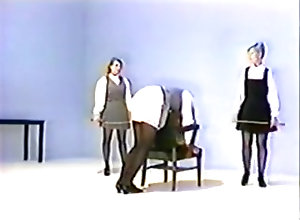 Threesome,Brutal,Caning Don't talk...