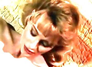 Blonde,Sucking Blonde in red...