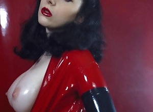 latex;latex-catsuit;latex-gloves;latex-fetish;fetish;red-lips;big-tits;tits;brunette;hot-brunette;goddess;sexy-brunette;long-nails;sexy-girl;cosplay;kink,Babe;Big Tits;Brunette;Fetish;Verified Amateurs;Solo Female Red catsuit and...