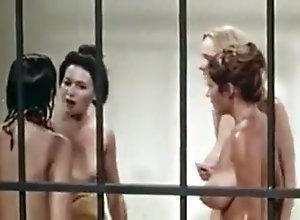 Lesbian,Brunette,Big Boobs,Catfight,Retro,Shower Retro Shower...
