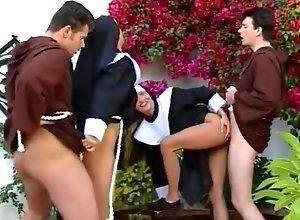Anal,Vintage,Classic,Retro,Group Sex,MILF,Nun Nuns 30