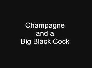 Facial,Brunette,champagne,Monster Cock,Vintage Champagne &...