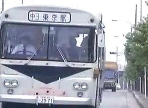 Softcore,Asian,Bus,Softcore,Tokyo,Vintage Commuter Bus...