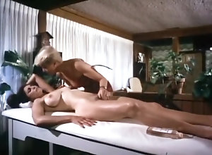 Lesbian,Brunette,Vintage,Classic,Retro,Hairy,Fingering,Massage,Mature,MILF Too Exciting A...