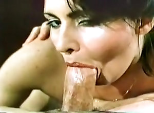 Facial,Brunette,Sucking,Vintage Excellent Blowjob...