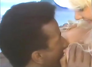 Interracial,Blond,Vintage,Classic,Retro,Blowjob,Cumshot,French,French,Maid Little french...