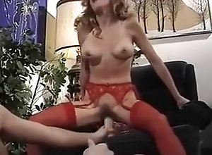 Masturbation,Lingerie,Hairy,Stockings Let's Wank...