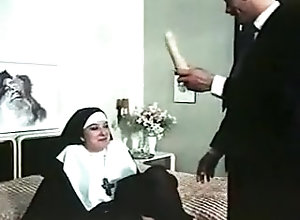Hairy,Group Sex,Nun,Orgy,Religious,Vintage Foursome Orgy...