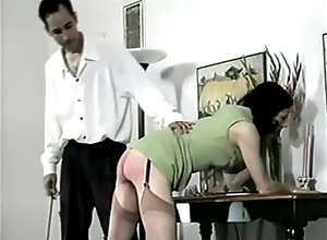 Brunette,Vintage,Classic,Retro,Stockings,Toys,Fetish,MILF,Spanking Darkly Disciplined
