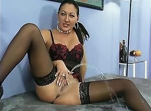 Pissing,Brunette,Vintage,Classic,Retro,Big Tits,Stockings,Big Cock,German,MILF Piss Fun Vol.15...