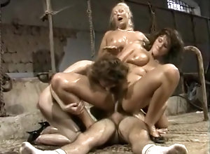 Vintage,Classic,Retro,Big Tits,Hardcore,Italian,European,Group Sex,Italian,Oiled,Vintage A vintage oily...