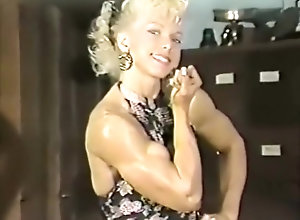 Vintage,Classic,Retro,British,Solo Female,Muscled oldschool muscle...