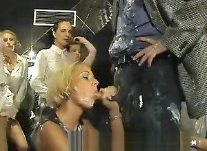 Vintage,Classic,Retro,Striptease,Messy,Orgy messy wam club...