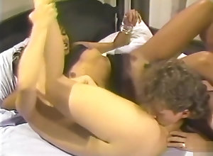 Interracial,Brunette,Vintage,Classic,Retro,Threesome,Cunnilingus,Cumshot,Hardcore,Bedroom,Interracial,Threesome Hot interracial...