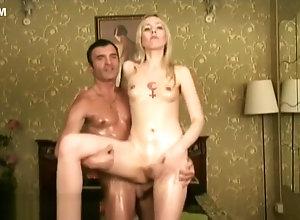 Blond,Vintage,Classic,Retro,Amateur,Hardcore,Russian,tgirl Alexander...