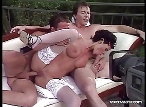 Anal;Big Boobs;Cumshots;Hardcore;Vintage;Hardcore Anal;Private Classics Wanda Curtis in a...