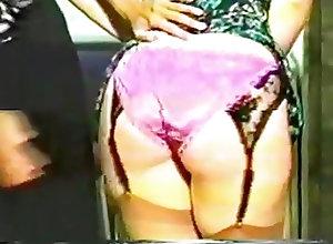 Amateur;Nylon;Spanking;Vintage;Nylon Panty;Panty Two Hour Lunch...