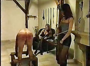 BDSM;Femdom;Vintage;Whipping Time to even the...