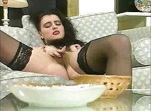 Fingering;Nipples;Vintage;British;Nice Hairy Pussy;Nice Pussy Nice hairy pussy