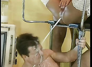 Anal;Black and Ebony;Vintage;Special Treatment;Treatment;Patient;Special Ebony patient...