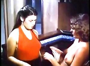 Lesbians;Vintage;Massage;Massage Girl;Retro Retro Girl Massage