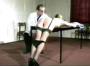 Vintage,Classic,Retro,Stockings,BDSM,British,Fetish,High Heels,Spanking English Spanking...