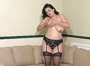 British;BBW;Brunettes;Masturbation;Vintage SF305