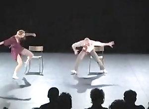 Public,Nude,performance,room Nude Stage...