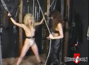 brucesevenfilms;big-tits;boots;flogging;oral;lingerie;high-heels;blonde;bdsm;domination;retro,Babe;Blonde;Bondage;Vintage BRUCE SEVEN -...