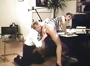 Anal;Hairy;High Heels;Stockings;Vintage;Stockings and Heels;Stockings Heels;Gets Fucked;Boss;Fucked Boss Gets Fucked...