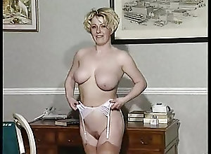 British;Blondes;Masturbation;Vintage SF341