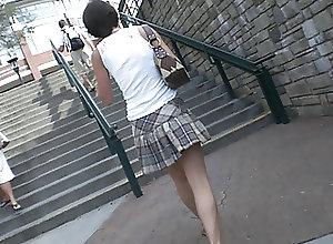 Vintage;Voyeur Steps Upskirt