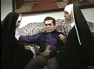 Anal;Cumshots;Double Penetration;Threesomes;Vintage;Classic Nuns Classic