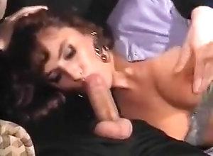 Anal,Redhead,Threesome,2 dicks,Sucking Elegant Simona...
