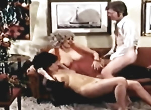 Vintage,Classic,Retro,Lingerie,Threesome,Hairy,Big Ass,Blowjob,Cumshot Sextsunami 119