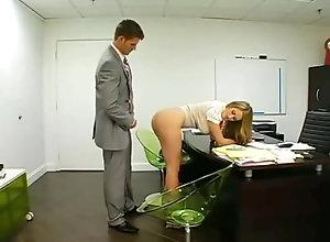 Blond,Vintage,Classic,Retro,Big Tits,Hardcore,Boobs,Office,Secretary Secretary seduces...