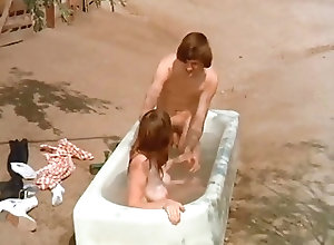 Vintage;18 Years Old;Big Natural Tits Bathtubscene with...