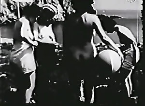 Hairy;Vintage nautical nudes -...