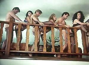Group Sex;Hardcore;Orgy;Teens;Vintage;Retro;X Czech Retro Orgy with...