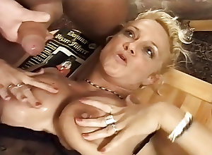 Matures;Threesomes;Vintage;Double Teamed;Teamed;MILF gets;Double German MILF gets...