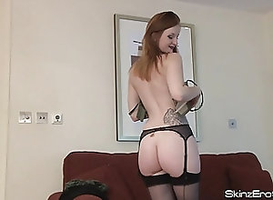 Masturbation;Big Boobs;Vintage;Redheads;British;Skinz Erotica;HD Videos;British Nylons;Vintage Nylons;Redhead Masturbating;Nylons;St. Patrick's Day;Redhead;Masturbating British Redhead...
