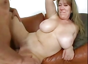 French;Big Boobs;Matures;Vintage Belle mature aux...