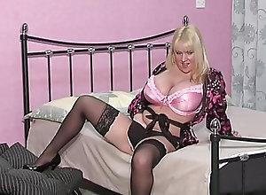 British;BBW;Masturbation;Vintage SF324