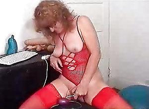 Anal;Dildo;Gaping;Sex Toys;Vintage BJSEXTREMESEX...
