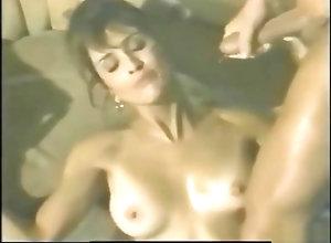Brunette,Vintage,Classic,Retro,Big Cock,Blowjob,Cumshot,Pornstar,Sucking,Vintage Porn Star Ashlyn...