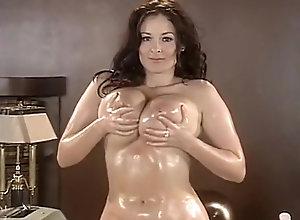 Brunette,Vintage,Classic,Retro,Big Tits,MILF,Solo Female,Boobs,Desk,Knockers,Stripping,Tease,Undressing big tits strip...