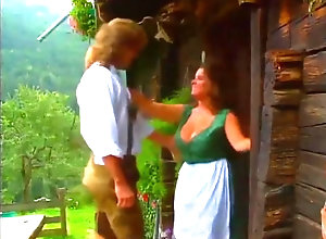 Vintage,Classic,Retro,Big Tits,Hairy,Group Sex,German,German Alm Bums - VHS...
